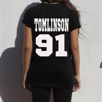 Louis Tomlinson 91 Shirt One Direction T Shirt T-Shirt TShirt Tee Shirt Unisex More Size and Colors