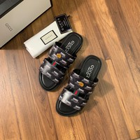 Gucci Men's Leather Sandals
