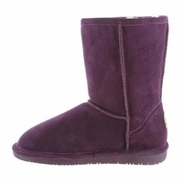 """Womens Emma 8"""" Boot by BEARPAW in color Dark Honey"""