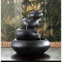 Elegant Four-tier Indoor Tabletop Water Fountain Home Decor