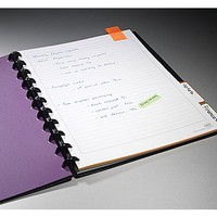 """M by Staples Arc Customizable Durable Poly Notebook System, Black, 9-3\/8\"""" x 11-1\/4\"""" 