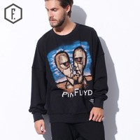 Print Pullover Men's Fashion Hoodies [8822209539]