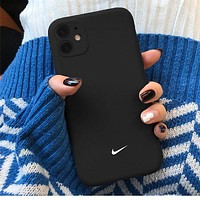 Apple 11 Nike mobile phone case iPhonex frosted silicone 11proMax/xr protective shell 7plus/8p/6sp