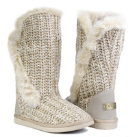 Winter Boots - Snow Beige