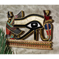 Park Avenue Collection Egyptian Eye Of Horus Plaque