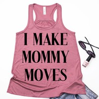 Mommy Moves Racerback Tank
