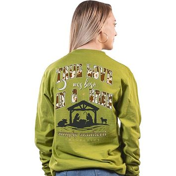 Simply Southern True Love Holiday Long Sleeve T-Shirt