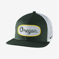 Check it out. I found this Nike True Fan Mesh (Oregon) Adjustable Hat at Nike online.