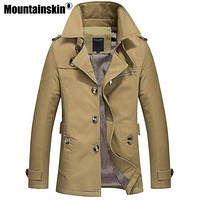 Trench Coat For Men - ALL Season Long Coat