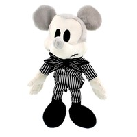 """disney parks 9"""" mickey mouse as jack skellington plush toy new with tag"""