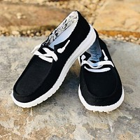 Very G Gypsy Jazz Holly Sneakers in Black