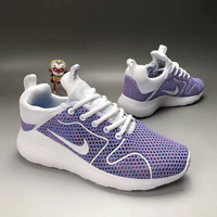 """NIKE"" Fashion Casual Knit Fly Line Olympic Women Sneakers Running Shoes"