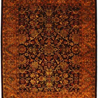 Golden Jaipur Traditional Indoorarea Rug Burgundy / Gold