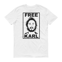 Free Karl - Funny Unisex Workaholics T-Shirt