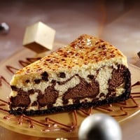 Marble Chocolate Chip Cheese Brulee. Buy Cheesecakes Online - Sweet Street Desserts