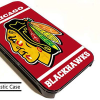Chicago BlackHawks Nhl Ice Hokey customized for iphone 4/4s/5/5s/5c , samsung galaxy s3/s4/s5 and ipod 4/5 cases