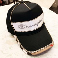 Champion 2019 new diamond-studded baseball cap cap