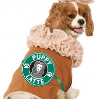 Iced Coffee Puppy Latte Dog Costume