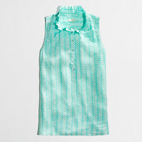 Factory printed Teagan ruffle popover - Women - early_access_2014's View All - J.Crew Factory