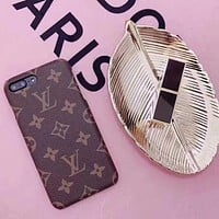 Perfect Louis Vuitton  Phone Cover Case For Samsung Galaxy s8 s8Plus iphone 6 6s 6plus 6s-plus 7 7plus 8 8plus X