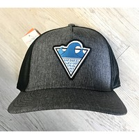 "Bare Wires ""Three Wave"" Hat-Gry/Blu"