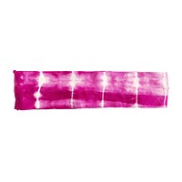 Boho Headband, Hot Pink Tie Dye