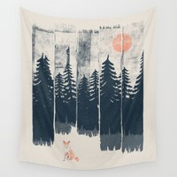 A Fox in the Wild... Wall Tapestry by NDTank | Society6