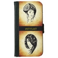 Hash tag stylist IPhone 6 wallet case