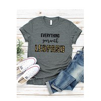 Everything Leopard Graphic Tee