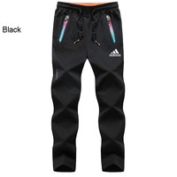 ADIDAS 2018 autumn and winter new outdoor lightweight stretch elastic hiking pants Black