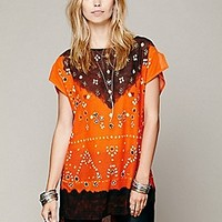 Free People  FP New Romantics Smoke Mirrors Tunic at Free People Clothing Boutique