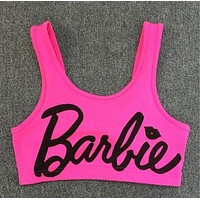 Barbie Neon Crop Top Bra