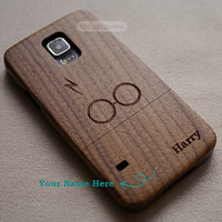 Harry Potter phone case, Wood Galaxy S5 Case, Custom Samsung Galaxy S4 Case, Wood Samsung S3 Case, Wood Samsung S6 Case, Harry Potter - B9