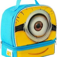 Despicable Me Minions Stuart Dual Compartment Children's School Lunchbox