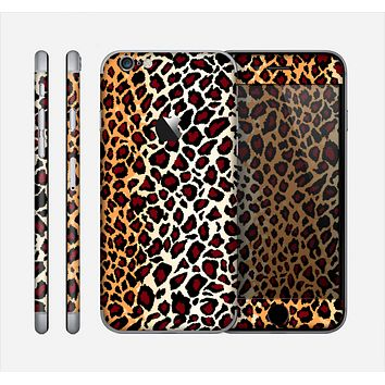 The Vector Brown Leopard Print Skin for the Apple iPhone 6
