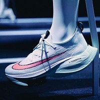 Nike Air Zoom Alphafly New Women's Air Cushion Casual Running Sneakers Shoes
