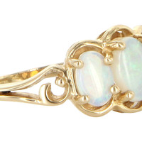 Opal Trilogy Ring