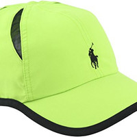 Polo Ralph Lauren Men's Performance Athletic Mesh Panel Cap [Rescue Green]