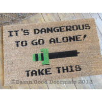 Legend of Zelda doormat -novelty geek stuff fan art