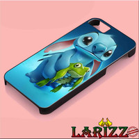 "Disney Lilo and Stitch Turtle for iphone 4/4s/5/5s/5c/6/6+, Samsung S3/S4/S5/S6, iPad 2/3/4/Air/Mini, iPod 4/5, Samsung Note 3/4 Case ""002"""