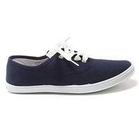 Girls Canvas Lace Up Shoes
