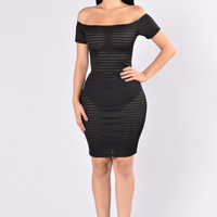 Date Night Dress - Black
