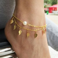 Women's Anklets Novel Bracelet Beach Foot Jewelry For Ankle