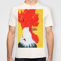 """""""doodle doo"""" rooster T-shirt by Jennifer Pennacchio"""
