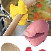 Pot Clip, Silicone Spoon Holder, Utensil Pot Clip | Solutions