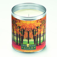 Autumn Trees Scented Candle