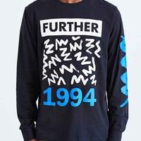 L.A.T.H.C. Further Long-Sleeve Tee- Black