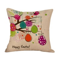 Easter Decorative Pillow- Multiple Patterns