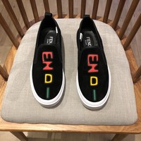 FENDI  Man Fashion Casual Shoes Men Fashion Boots fashionable Casual leather Breathable