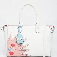 ASOS Handheld Bag with Novelty Detail at asos.com